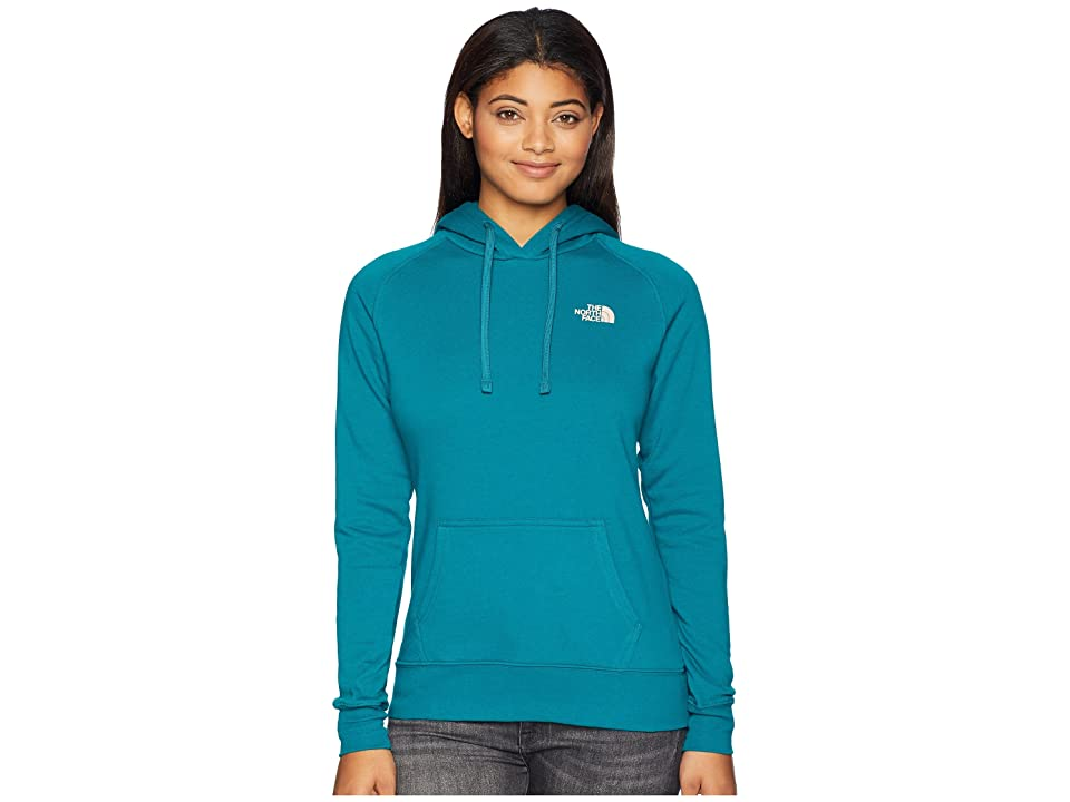 The North Face Red Box Pullover Hoodie (Everglade/Misty Rose) Women