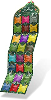 Pukka - Christmas Advent Calendar - Selection of Green, Herbal and Fruit Tea