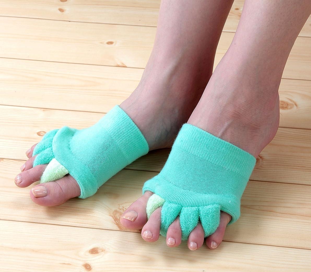 ルアータイピストデザイナーNEWふわふわ足指セパレータ 3色組