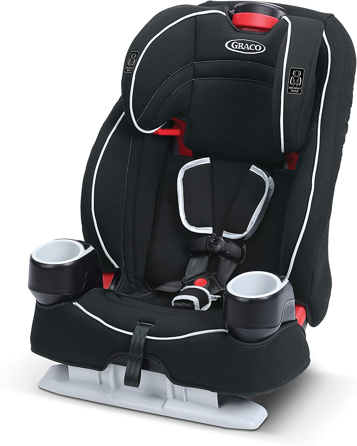 Graco Atlas 65 2-in-1 Harness Booster Car Seat, Glacier
