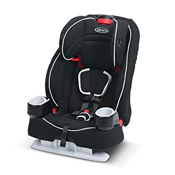 Graco Atlas 65 2 in 1 Harness Booster Seat   Harness Booster and High Back Booster in One, Glacier: image