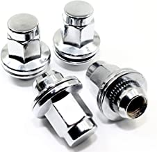 Set of 20 Veritek 14x1.5mm OEM Style Factory 1.80 Inch 7/8 22mm Hex Mag Washer Replacement Chrome Lug Nuts for Toyota Sequoia Landcruiser Tundra Lexus LX