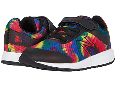 New Balance Kids 455v2 (Infant/Toddler) (Black/Tie-Dye) Girls Shoes