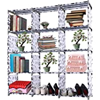 Evokem 4-tier Storage Cube Closet Organizer