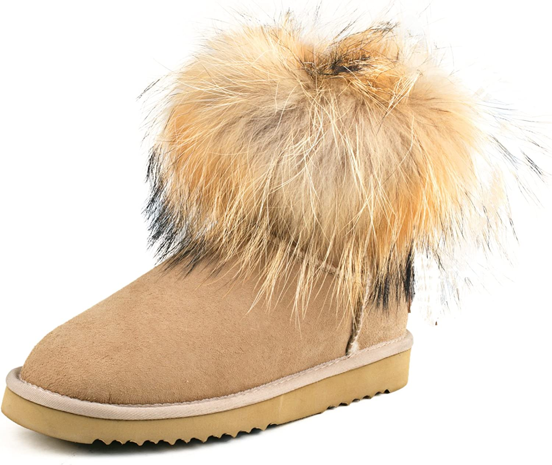 Ausland Women's Manufacturer regenerated product Short Super popular specialty store 99251 Snow Boot