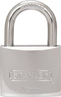Stanley All Weather Marine Standard Shackle Padlock 1-3/16 Inch 30 MM Body