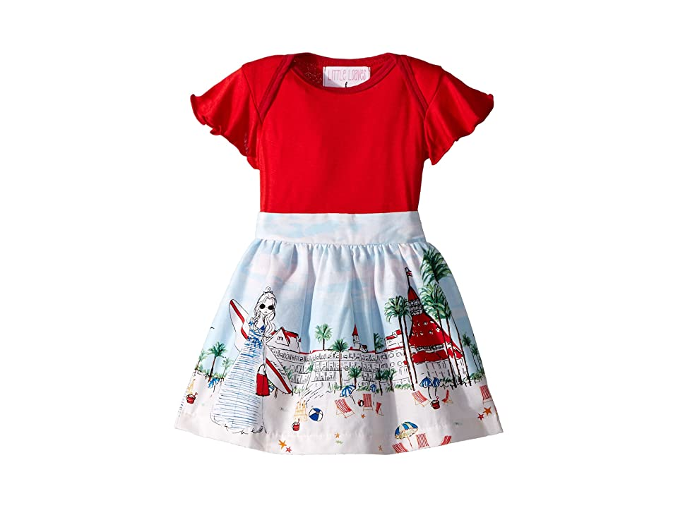fiveloaves twofish Abbie Just Shellin Dress (Infant) (Red) Girl