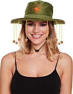 Henbrandt Adults Australian Kangaroo Aussie Outback Hat With Corks for Fancy Dress Party Accessory