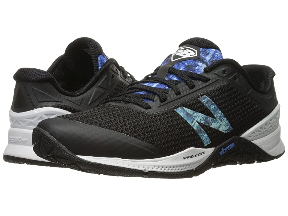 New Balance WX40v1 (Black/Majestic Blue) Women