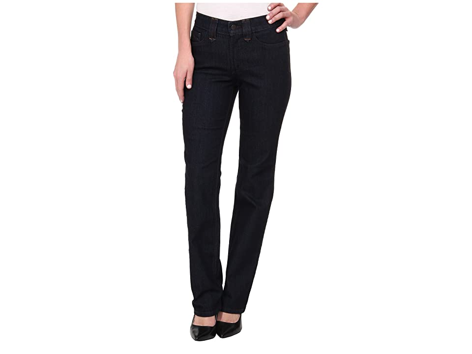 NYDJ Hayden Straight in Dark Enzyme (Dark Enzyme) Women's Jeans