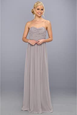 Donna Morgan - Strapless Chiffon Gown - Stephanie