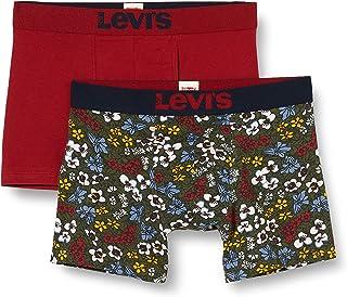 Levi's Pectolite Flowe All-Over Print Men's Boxer Briefs (2 Pack) (Pack de 2) para Hombre