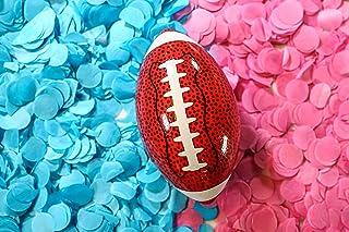 Gender Reveal Confetti Football