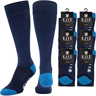 Ejis Dress Socks for Men with Anti-Odor Silver (Single and Multi-Packs)