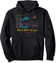Playstation Checker Neon 90 - Sudadera con capucha