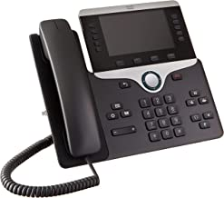 Cisco CP-8851-K9= 8851 IP Phone 5' (Renewed) (Power Supply Not Included)