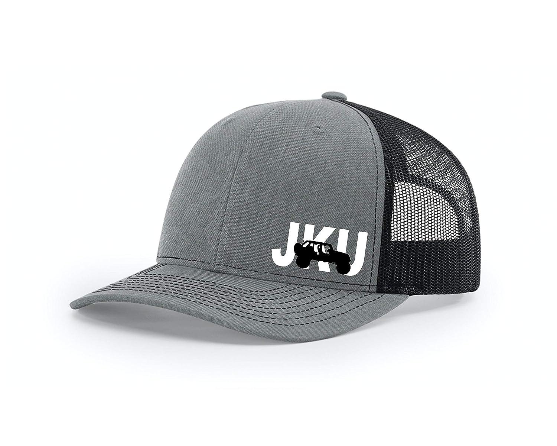 JKU JLU Rubicon Unlimited Richardson Snap Trucker Hat Back Free shipping on posting reviews Max 65% OFF 112