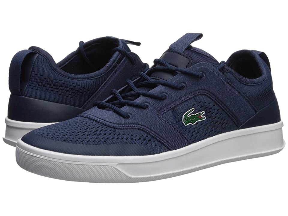 Lacoste Explorateur Light 2181 (Navy Fluorescent Yellow) Men