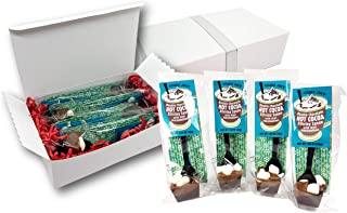 Trader Joe's Double Chocolate Hot Cocoa Stirring Spoon with Mini Marshmallow 1.05 Oz. Set of 4 Gift Set