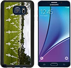 MSD Premium Samsung Galaxy Note 5 Aluminum Backplate Bumper Snap Case The graves of World War 2 US soldiers who paid the price amongst many in IMAGE 1229980