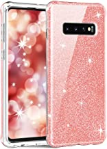 Hocase Galaxy S10 Plus Case, Shockproof Protection Hard Front Casing Without Screen Protector+High-Impact TPU Rubber Bumpe...