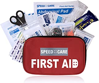 2-in-1 All-Purpose Premium First Aid Kit (147 Piece) Include a 31 Pieces Bonus Mini Kit for Emergency, Home, Work, Outdoor, Camping, Car, School, Office, Sports, Travel, Hiking & Survival