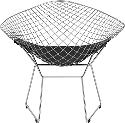 Poly and Bark Morph Lounge Chair in Black
