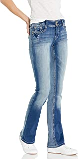 WallFlower Women's Instastretch Luscious Curvy Bootcut Jeans, Jenna, 9 Long