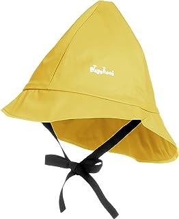 Playshoes Baby regnmössa, vind- och vattentät unisex mössa för pojkar och flickor med bomullsfoder