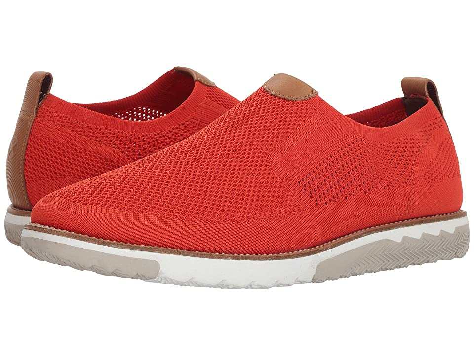 Hush Puppies Expert MT Slip-On (Dark Orange Knit/Nubuck) Men