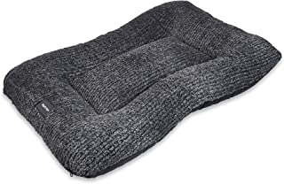 West Paw Heyday Dog Bed with Microsuede, Super Durable and Easy to Clean Pet Bed, Boulder Heather, Medium - 32x22