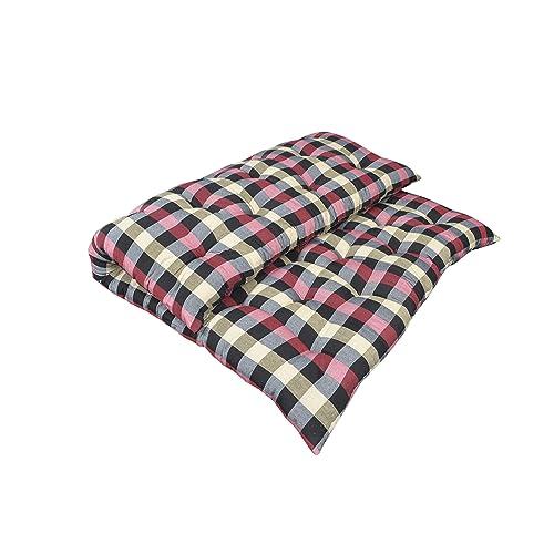 Shree Sugandh Soft Cotten mattresses-multicolor-72x72x4 inch (6x6)