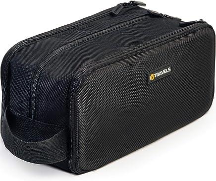 Dopp Kit (12 Inches) 3 Compartments + Waterproof Bag – Easy Organization Travel Toiletry Bag for Men or Women – Excellent Portable Shaving Bag & Toiletries Storage + 2 Bonus Best-Selling Ebooks