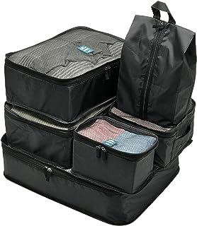トラベルポーチ 6点セット 旅行 海外 ポーチ 収納ケース 軽量 大容量 衣類 下着 メンズ レディース トラベルグッズ 靴入れ アレンジケース 3色