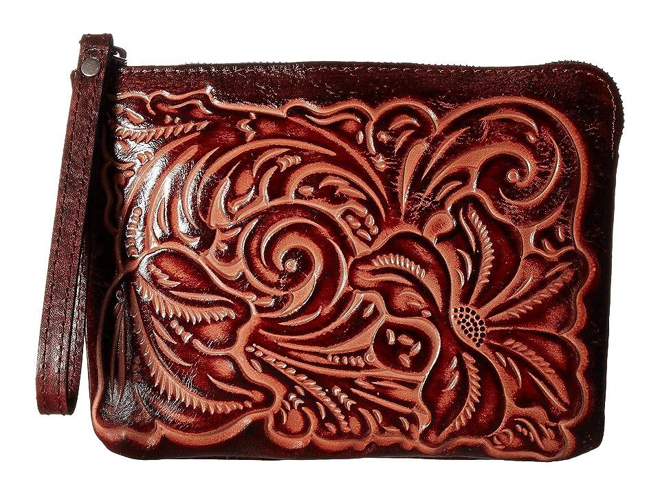 Patricia Nash Cassini Wristlet (Iron Red 1) Wristlet Handbags
