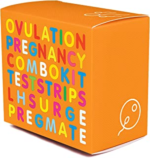 PREGMATE 100 Ovulation and 50 Pregnancy Test Strips Predictor Kit (100 LH + 50 HCG)