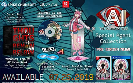 AI: The Somnium Files Limited Edition (輸入版:北米) - PS4