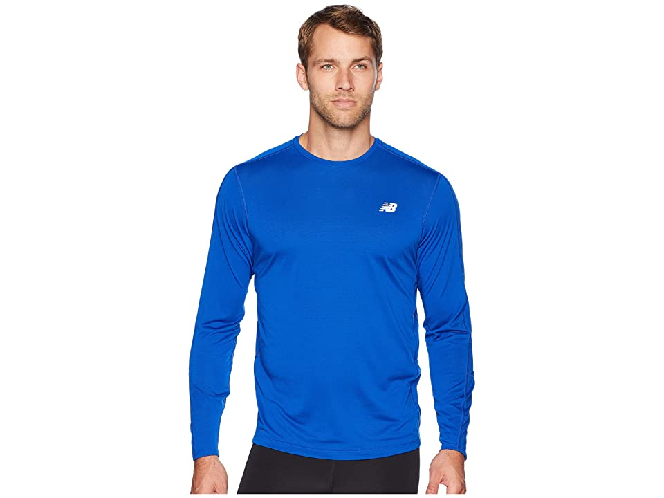 New Balance Accelerate Long Sleeve (Team Royal) Men
