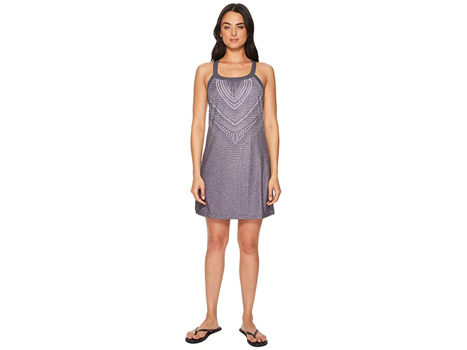 Prana Cantine Dress (Charcoal Synergy) Women