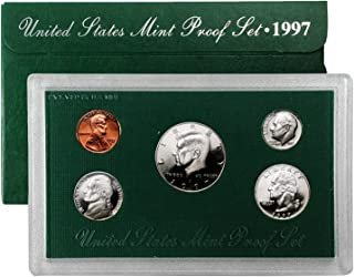 1997 S US 5 Piece set Proof In original packaging from US mint Proof