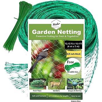 Anti Bird Net Bird-Preventing Netting Mesh For Fruit Crop Plant Tree Garden KW