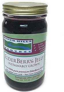 River Hills Harvest Elderberry Jelly 10 Ounce