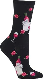 rose wine socks