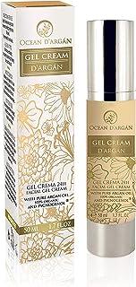 comprar comparacion OCEAN D'ARGÁN - Crema Hidratante Facial Mujer- Fabricada en España- Con Argan, Vitamina E, Pycnogenol | Crema Ligera para ...