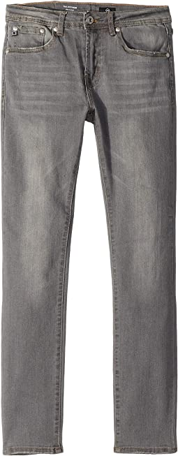 Slim Straight Jeans in Graphite (Big Kids)