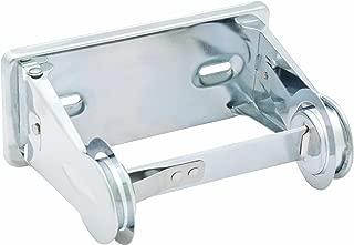 Bradley 5054-000000 Heavy Duty Steel Tension Spring Control Single Roll Toilet Tissue Dispenser, 6