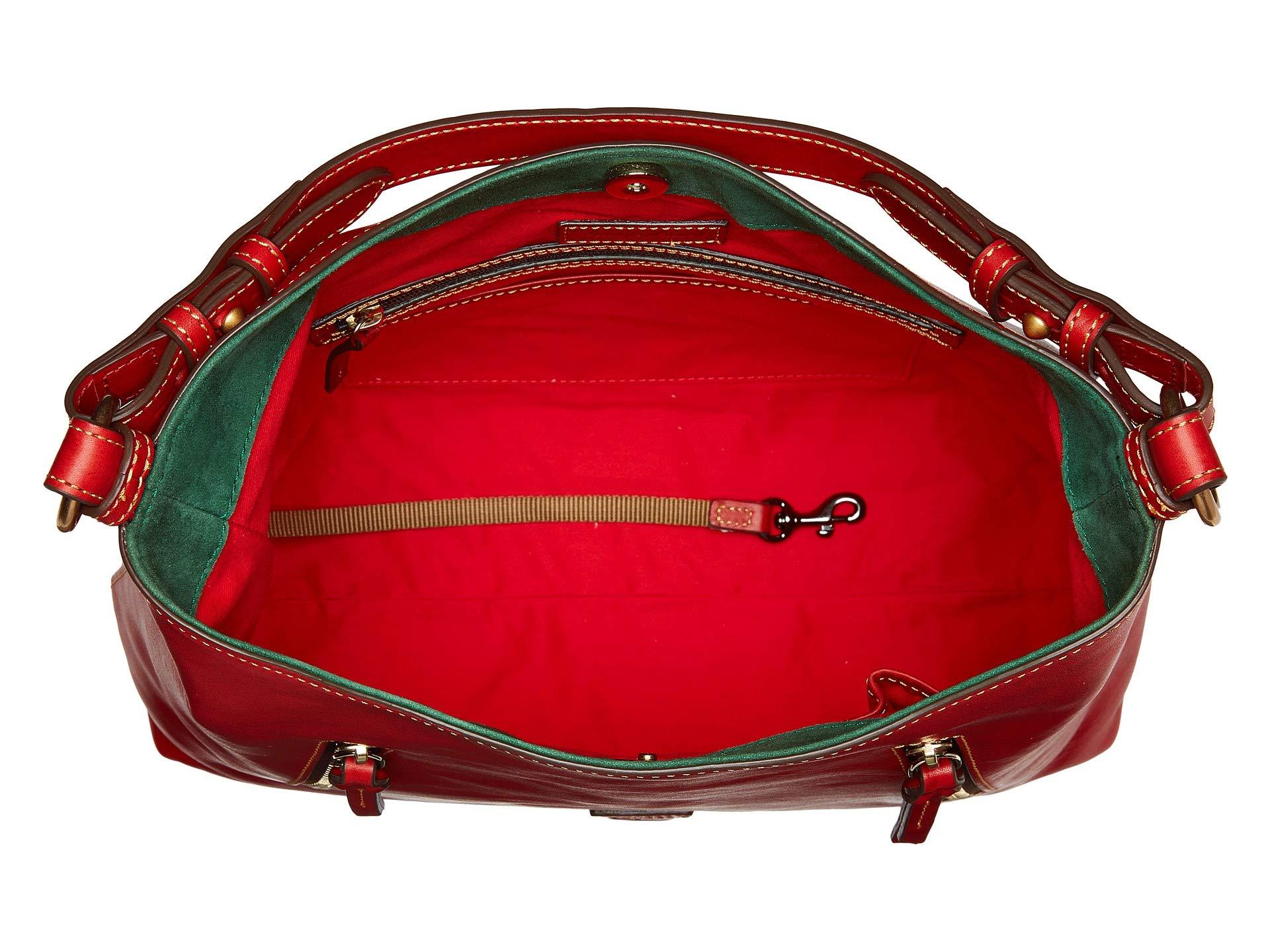 Dooney Red Trim Florentine Hobo amp; Bourke red Cooper qOXFAq