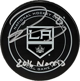 Drew Doughty Los Angeles Kings Autographed Official Game Puck with