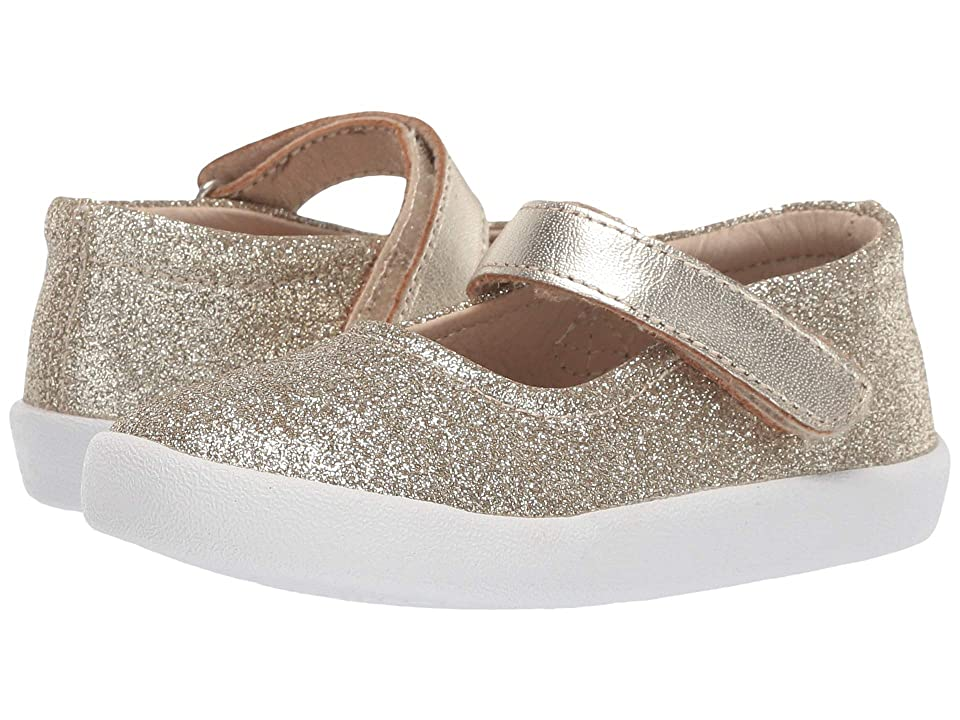 Old Soles Missy Shoe (Toddler/Little Kid) (Glam Gold) Girl