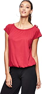 OVS Women's S1810071-0257SM1229 T-Shirt Tightened At The Bottom